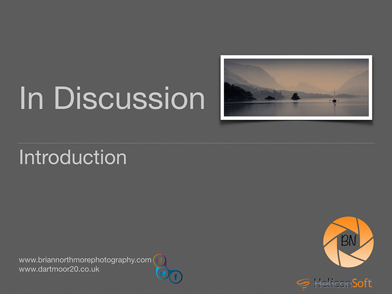 Indiscussion Photography Lecture