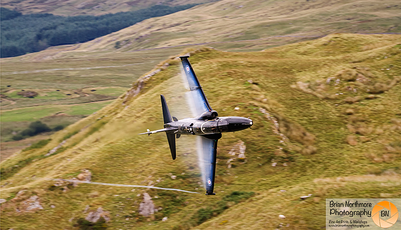 Brian Northmore Aviation Photography, Hawk no 4 San RAF Valley, on the Machloop