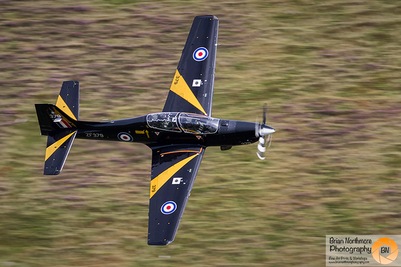 Brian Northmore Aviation Photography. Shorts Tucano T1, Machloop North Wales
