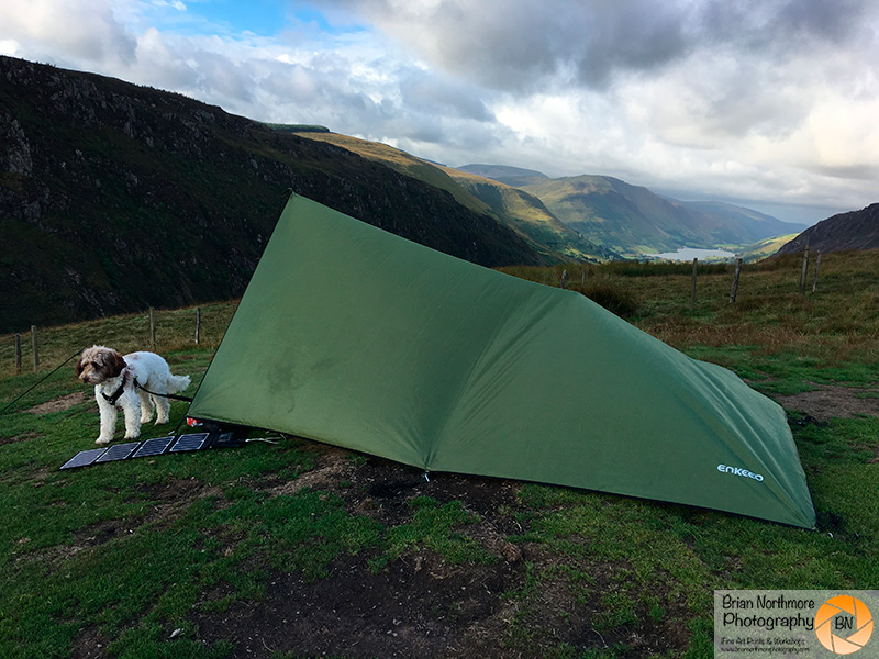 Brian Northmore Aviation Photography The Tarp Shelter