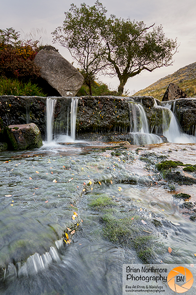 Tavy Cleave Waterfall