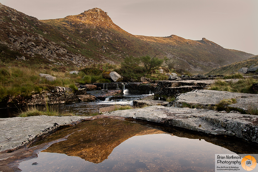 Gert Tor Reflections at Tavy Cleave