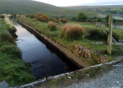 Tavy Cleave Crossing The Mine Leat