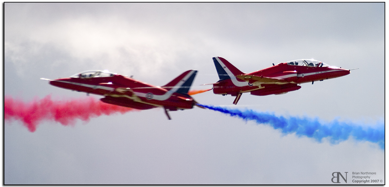 Red Arrows Opposition Pair Crossover