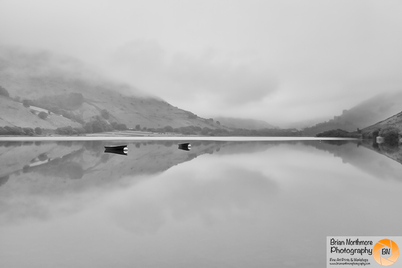 Brian Northmore Photography, workshops, lectures, judgging, prints. Tallylyn Lake Black and White