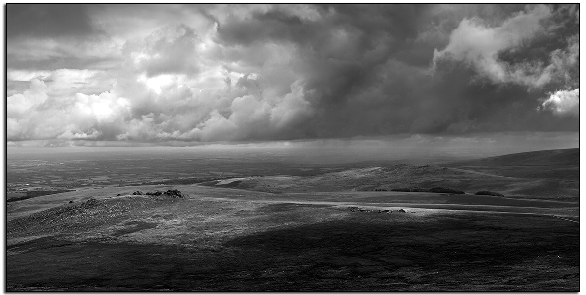 West Mill Tor From Yes Tor